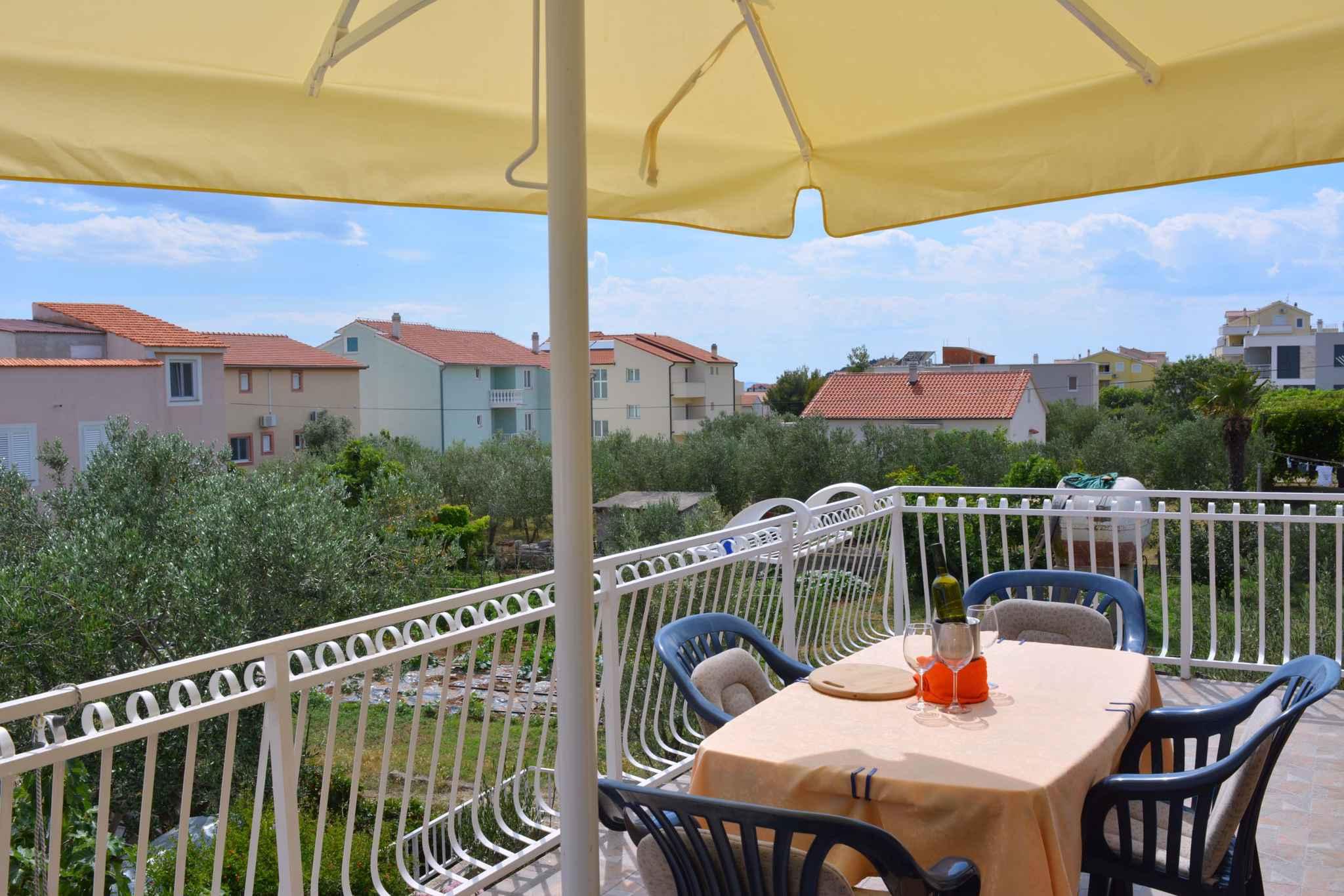 Ferienwohnung mit 25 qm großem Balkon und Klimaanlage (278782), Vodice, , Dalmatien, Kroatien, Bild 7