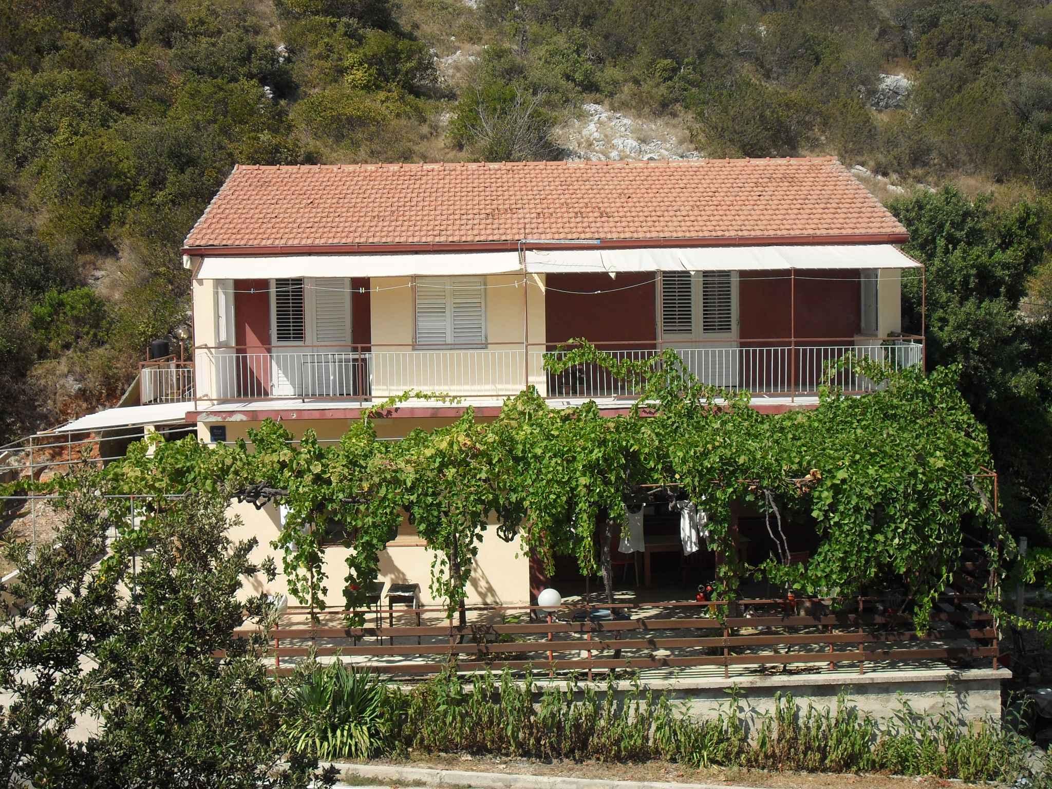 Ferienwohnung mit Meerblick und Terrasse Ferienhaus in Kroatien