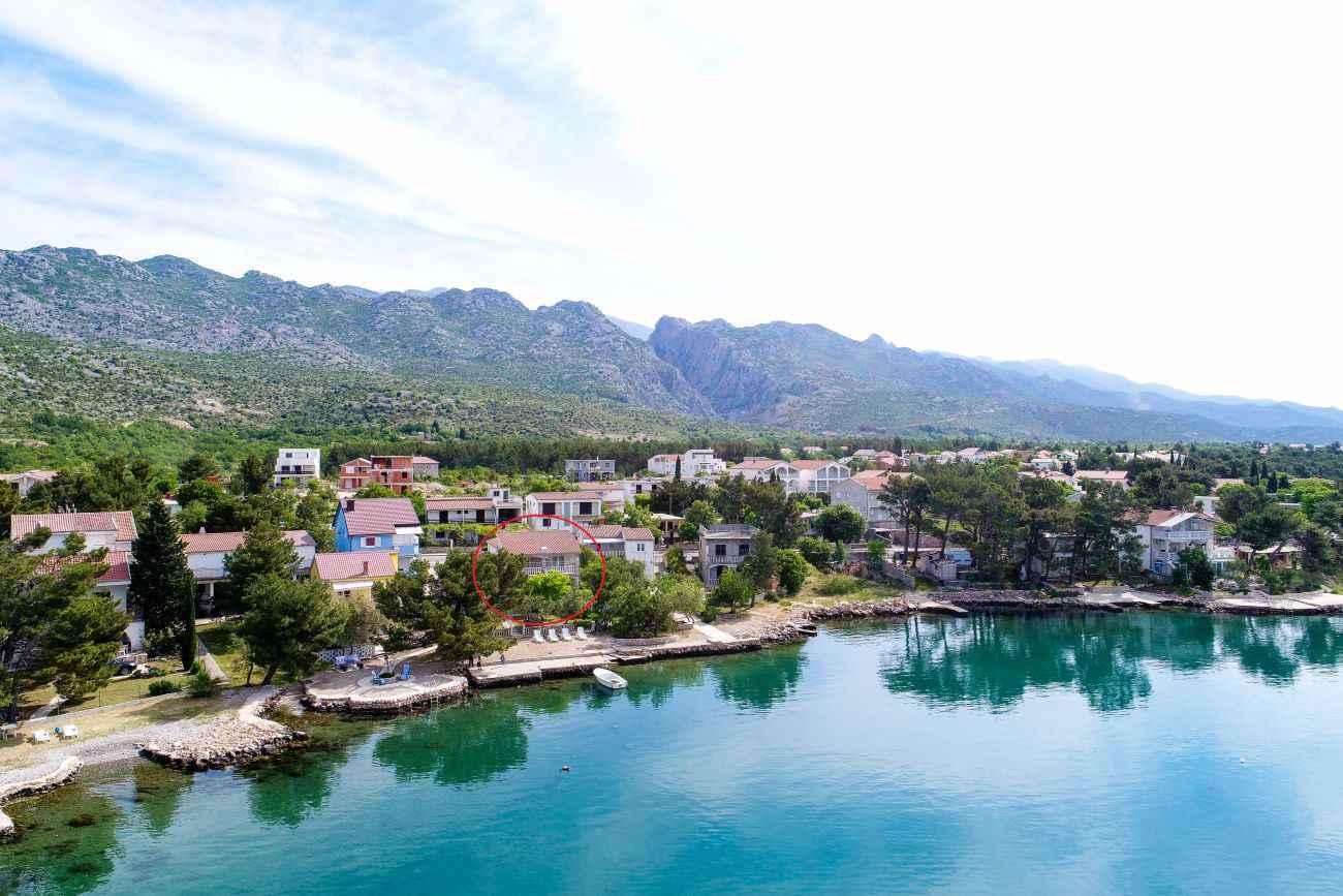 Ferienwohnung mit Panoramameerblick (287919), Starigrad Paklenica, , Dalmatien, Kroatien, Bild 3