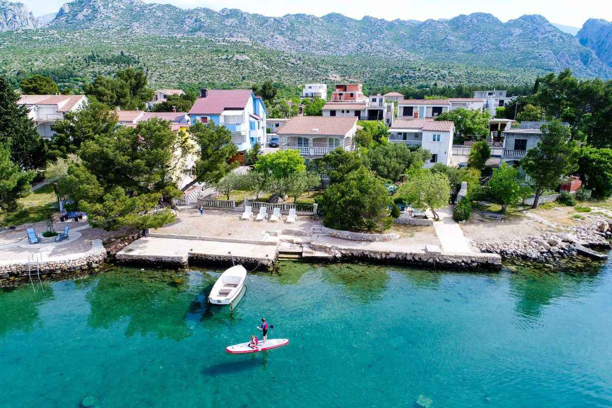 Ferienwohnung mit Panoramameerblick (287919), Starigrad Paklenica, , Dalmatien, Kroatien, Bild 1