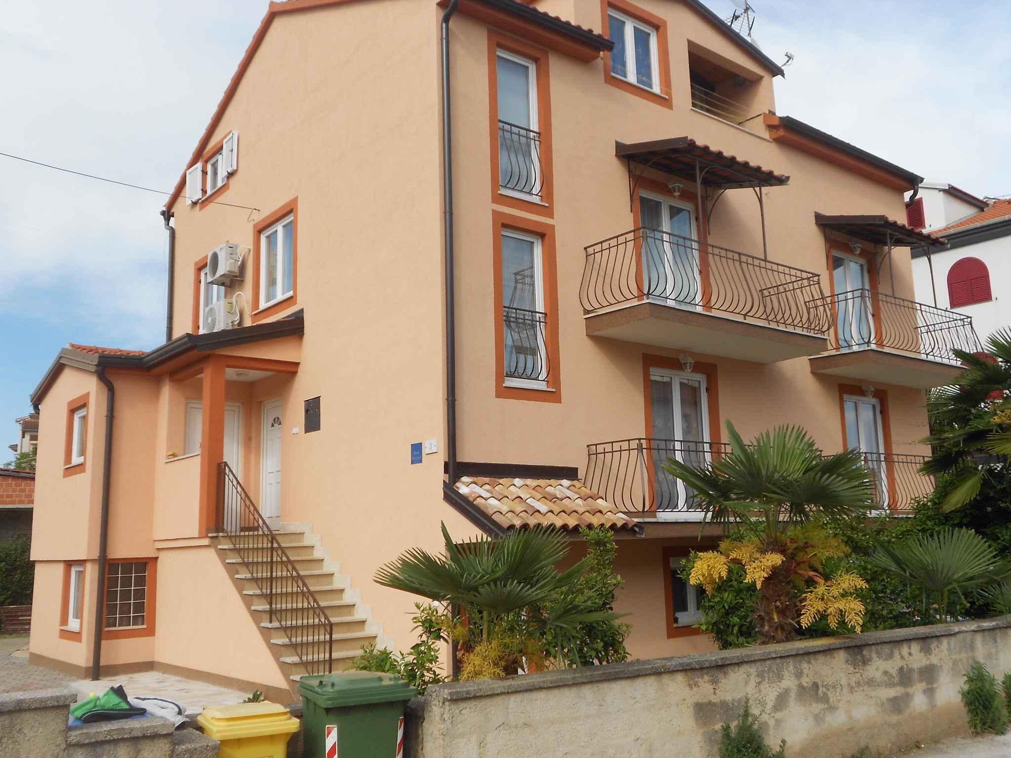 Ferienwohnung mit SAT-TV und Terrasse  in Istrien
